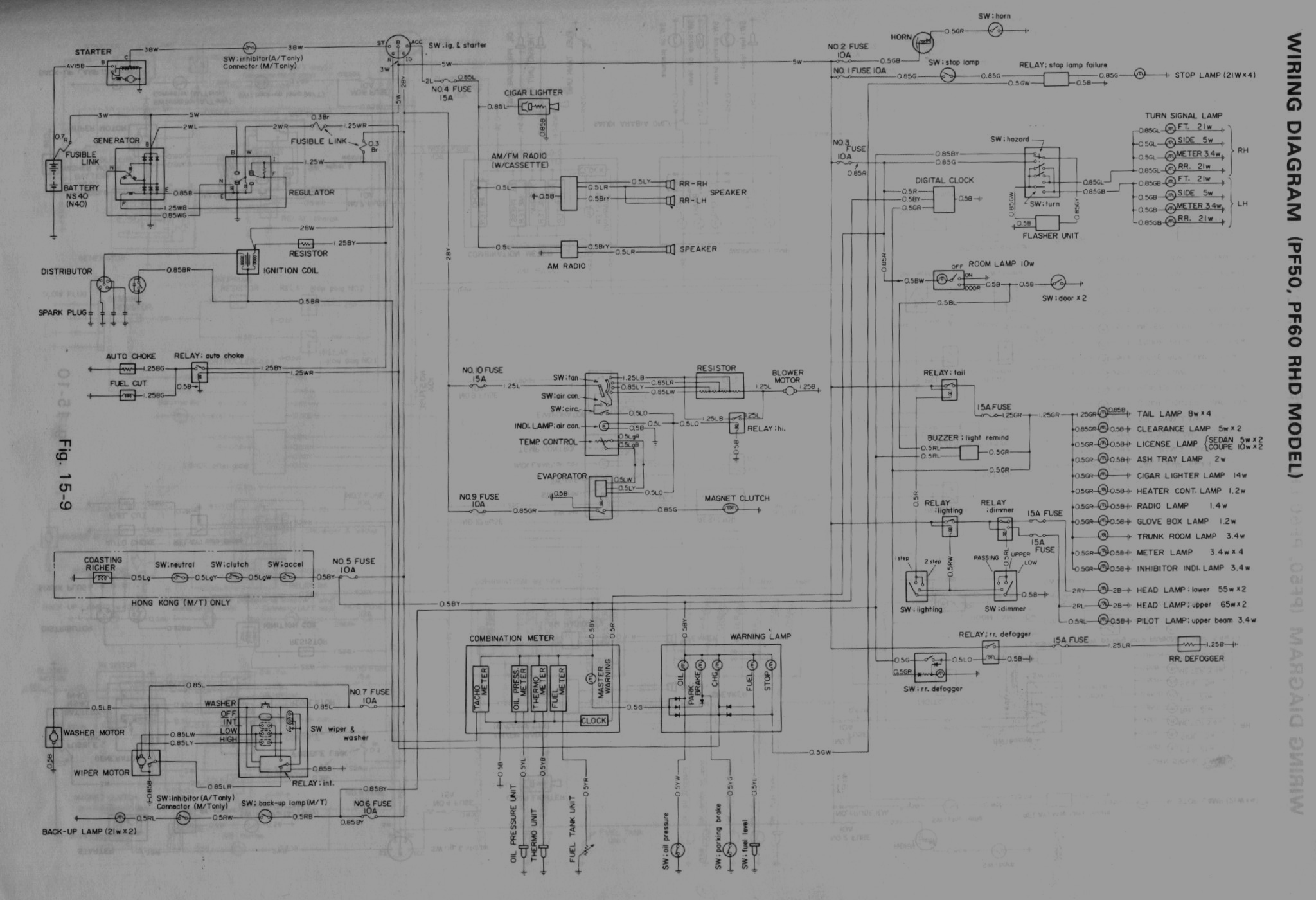 Isuzu Gemini Wiring Diagram Reinvent Your Fuel Other Diagrams Holden Mods Rh Geminimods Com Truck Rodeo Fuse Box